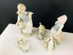 Lladro LLadro Porcelain Figurines a Set of 4 - 1730137