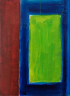 Lloyd Raymond Ney Green Colorfield  - 1283238