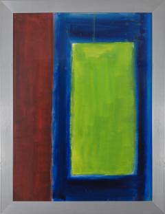 Lloyd Raymond Ney Green Colorfield  - 1283239
