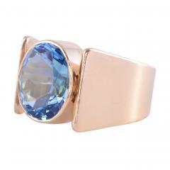 London Blue Topaz Ring Size 9 5 - 2007484
