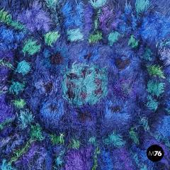 Long pile wool carpet 1970s - 2003976