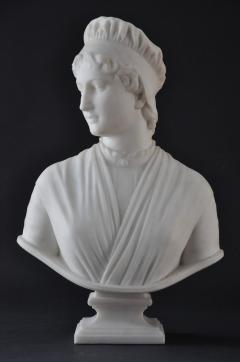 Longworth Powers Marble of Priscilla - 456359