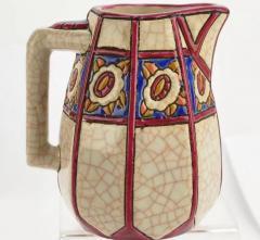 Longwy French Ceramic Cloisonn Art Deco Coffee Tea Suite - 1807126