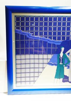 Loredano Rosin Loredano Framed Vintage Silk Scarf circa 1980 - 2003284