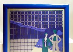 Loredano Rosin Loredano Framed Vintage Silk Scarf circa 1980 - 2003286