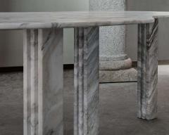 Lorenzo Bini Bicolor Sculptural Marble Coffee Table Signed by Lorenzo Bini - 1758254