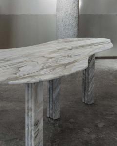 Lorenzo Bini Bicolor Sculptural Marble Coffee Table Signed by Lorenzo Bini - 1758255