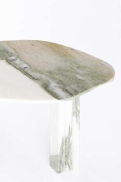Lorenzo Bini Bicolor Sculptural Marble Coffee Table Signed by Lorenzo Bini - 1758256