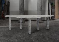 Lorenzo Bini Bicolor Sculptural Marble Table Lorenzo Bini - 1210942