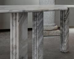 Lorenzo Bini Bicolor Sculptural Marble Table Lorenzo Bini - 1210943