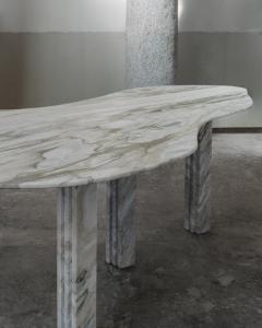 Lorenzo Bini Bicolor Sculptural Marble Table Lorenzo Bini - 1210944