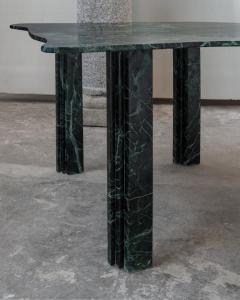 Lorenzo Bini Sculptural Green Marble Table Lorenzo Bini - 1210916