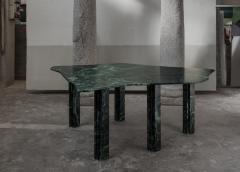 Lorenzo Bini Sculptural Green Marble Table Lorenzo Bini - 1210917