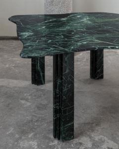 Lorenzo Bini Sculptural Green Marble Table Lorenzo Bini - 1210918