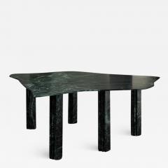 Lorenzo Bini Sculptural Green Marble Table Lorenzo Bini - 1211382