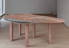 Lorenzo Bini Sculptural Pear Marble Dining Table Lorenzo Bini - 1815169