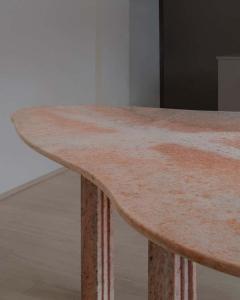 Lorenzo Bini Sculptural Pear Marble Dining Table Lorenzo Bini - 1815176