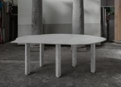 Lorenzo Bini Sculptural White Marble Table Lorenzo Bini - 1210948