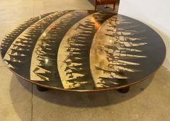Lorenzo Burchiellaro Grand Lorenzo Burchiellaro 1970 Sculptural Coffee Table - 1766668