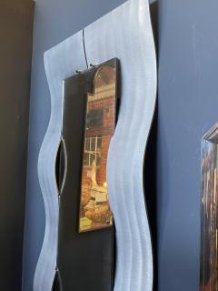 Lorenzo Burchiellaro Mid Century Wall Mirror by Lorenzo Burchiellaro italy 1970 - 2044490