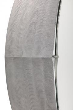 Lorenzo Burchiellaro Sculptural Aluminum Framed Mirror by Artist Lorenzo Burchiellaro - 2141017
