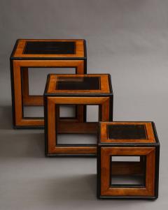 Lorenzo Renzo Mongiardino Nesting Cube Tables - 1368266