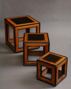 Lorenzo Renzo Mongiardino Nesting Cube Tables - 1368267