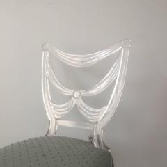 Lorin Jackson Lorin Jackson Glassic Collection Lucite Chair - 597806