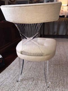 Lorin Jackson Ultra Rare Art Deco Lucite Grosfeld House Chair by Lorin Jackson - 428136