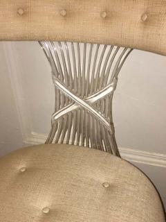 Lorin Jackson Ultra Rare Art Deco Lucite Grosfeld House Chair by Lorin Jackson - 428137