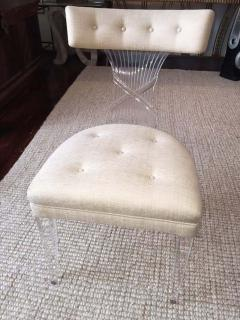 Lorin Jackson Ultra Rare Art Deco Lucite Grosfeld House Chair by Lorin Jackson - 428138