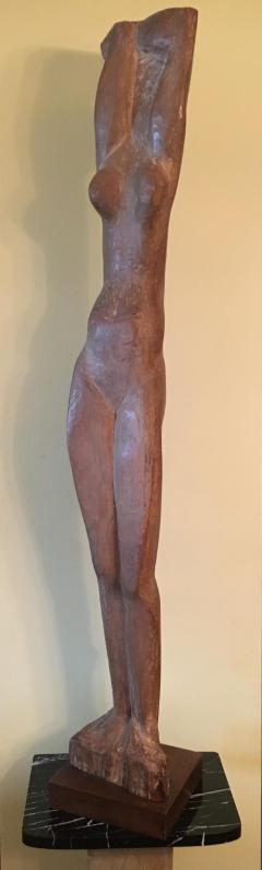Lorrie H Mrs Lorrie de Creeft Goulet Standing Nude - 1180379