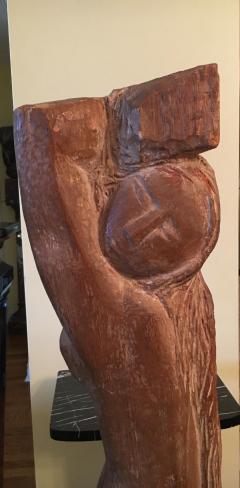 Lorrie H Mrs Lorrie de Creeft Goulet Standing Nude - 1180382
