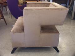 Lost City Arts Custom Cubist Lounge Chair - 563360
