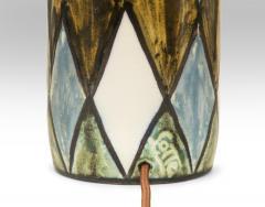 Lotte Gunnar Bostlund Lotte Studio Pottery Lamp signed Lotte - 1084359