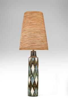 Lotte Gunnar Bostlund Lotte Studio Pottery Lamp signed Lotte - 1084362
