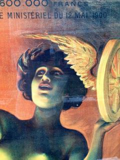 Lotterie French Drama Art Nouveau Pasge Daudin Poster - 91969