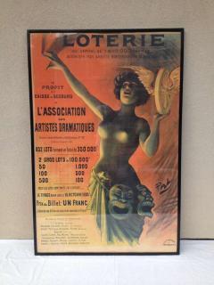 Lotterie French Drama Art Nouveau Pasge Daudin Poster - 91971
