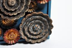 Lotus Flower Wall Sculpture - 662813