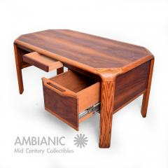 lou hodges lou hodges mid century modern desk walnut and oak