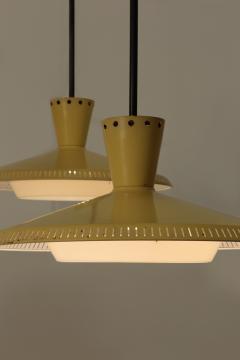 Louis Christiaan Kalff 2 Louis Kalff NB93 Ceiling Lamps 60s - 1638768