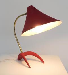 Louis Christiaan Kalff Louis Kalff Diabolo Red Table Lamp For Philips - 1037108