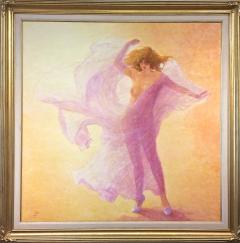 Louis Fabien Hommage a Loie Fuller Tribute to Loie Fuller Large Nude in Pink - 1105842
