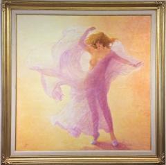 Louis Fabien Hommage a Loie Fuller Tribute to Loie Fuller Large Nude in Pink - 1105843