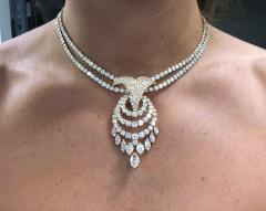 Louis Gerard M Gerard Diamond Bracelet and Necklace Suite - 1136191