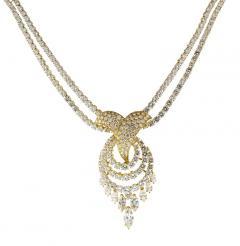 Louis Gerard M Gerard Diamond Bracelet and Necklace Suite - 1136194