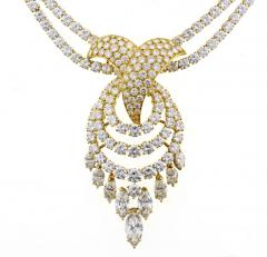 Louis Gerard M Gerard Diamond Bracelet and Necklace Suite - 1136195