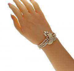 Louis Gerard M Gerard Diamond Bracelet and Necklace Suite - 1136197