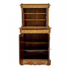 Louis Grade Napoleon III period gilt bronze and porcelain mounted cabinet by Louis Grade - 2003836