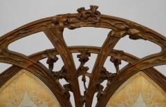 Louis Majorelle French Art Nouveau Walnut Bergere Armchair - 422143